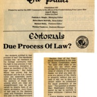 Due Process Of Law?