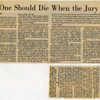 No One Should Die When the Jury Votes for Life