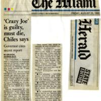 'Crazy Joe' is guilty, must die, Chiles says
