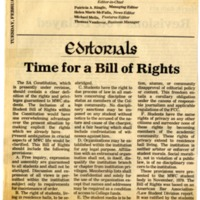 """Time for a Bill of Rights"""